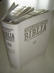 White Tagalog Bible with Apocrypha TPV 035 DC S.E. / Tagalog Popular Version Magandang Balita BIBLIA