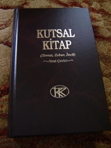 Turkish Large Bible 2011 Print / Kutsal Kitap (Tevrat, Zebur, Incil) Yeni Ceviri