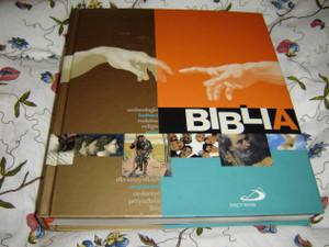 Polish Bible Colorful Handbook / BIBLIA archeologia, kultura, rodzina, religie, sens