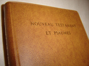 French Pocket New Testament and Psalms / Nouveau Testament Et Psaumes