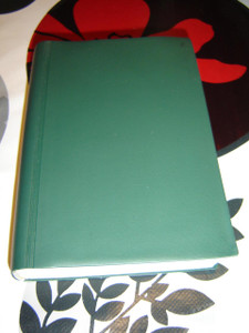 Russian Bible printed in 1968 / Historical Green Vinyl Bound Bible that used to be smuggled in the U.S.S.R. Soviet Union
