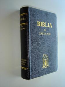 Romanian Bible KJV / BIBLIA Traducerea Cornilescu Cu Explicatii