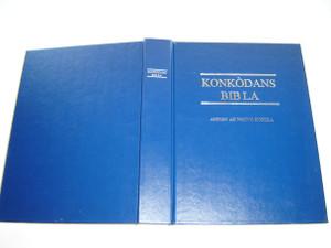Haitian Creole Language Bible Concordance / Konkordans Bib La / Ansyen Ak Nouvo Kontra / Great tool to Study the Haitian Bible / HG12706