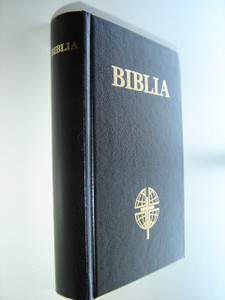 Romanian Bible Black / Cross with Globe / Biblia Sau Sfinta Scriptura a Vechiului Si Noului Testament / Hardcover