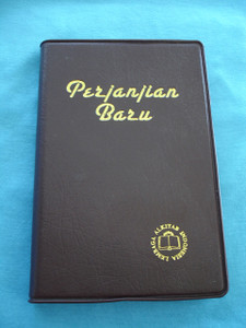 Indonesian New Testament Burgundy Cover, Golden Edges / PERJANJIAN BARU