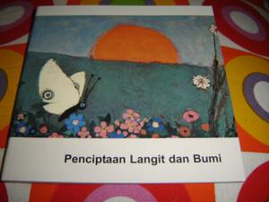 Christian Children's Bible Story Booklet in Indonesian / CREATION / Penciptaan Langit dan Bumi