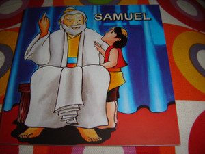Christian Children's Bible Story Booklet in Indonesian - English / Bilingual Edition / SAMUEL