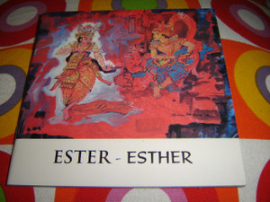 Christian Children's Bible Story Booklet in Indonesian - English / Bilingual Edition / ESTER - ESTHER
