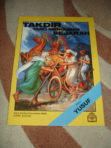 Christian Comics in Indonesian Language / The Story of Joseph the Dreamer / Komik Yusuf / Takdir Yang Mengubah Sejarah