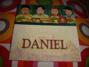 Christian Children's Bible Story Booklet in Indonesian - English / Bilingual Edition / DANIEL