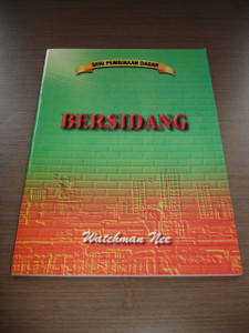 Watchman Nee book in Indonesian language / Bersidang (Pertemuan Ibadah) / Seri Pembinaan Dasar