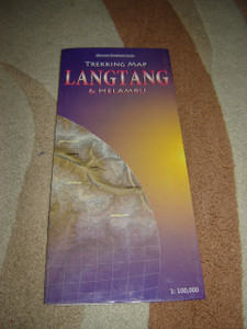 Trekking Map Langtang and Helambu / Milestone Himalayan Series / 1:100,000 /  NEPAL