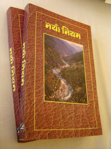 Nepalese Language New Testament / River Cover / New Nepali Bible Version