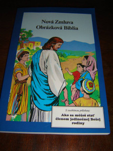 Slovak Children's Comic Book Bible - The Life of Jesus / Nova Zmuluva Obrazkova Biblia