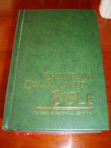 Christian Community Bible GREEN / Catholic Pastoral Edition