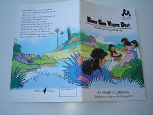 Norwegian Children's Bible Story / Bare Gud Visste Det!  Miriam og Mosesbarnet / Miriam and Moses