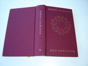 Norwegian Christian Church Hymnal / NORSK SALMEBOK / MED BONNEBOK
