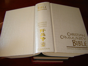 Christian Community Bible WHITE / Catholic Pastoral Edition