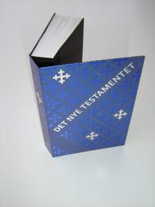 Norwegian New Testament  / Det nye testamentet - dwarsliggerutgave / Bibelselskapet