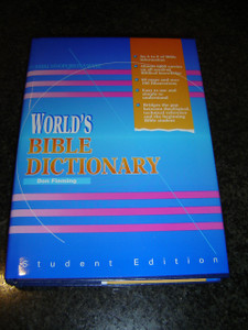 World's Bible Dictionary By Don Fleming / Student Edition