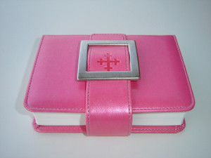 Norwegian Bible Pink Bible with buckle / Woman's Bible