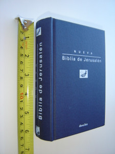 Nueva Biblia de Jerusalen / New Jerusalem Bible in Spanish Language