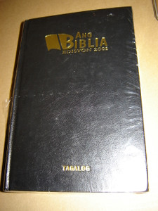 Tagalog Bible / Ang Biblia Edisyon 2001 RTAG 054 / Black Hardcover, Thumb Indexed