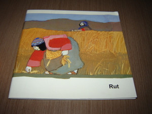 Book of Ruth / Christian Children's Bible Story Booklet in Indonesian Language