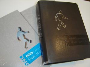 Czech Life Application Study Bible with the Harmony of the Gospels / Czech SNC Bible s Poznamkami Slovo ne cestu