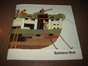 Ark of Noah - Bahtera Nuh / Christian Children's Bible Story Booklet in Indonesian Language