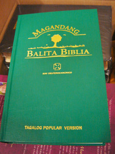 Tagalog Bible with Deuterocanonical Books / Magandang Balita Biblia May Deuterocaninico TPV