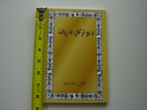 More Than a Carpenter by Josh McDowell / Pashto Language Edition
