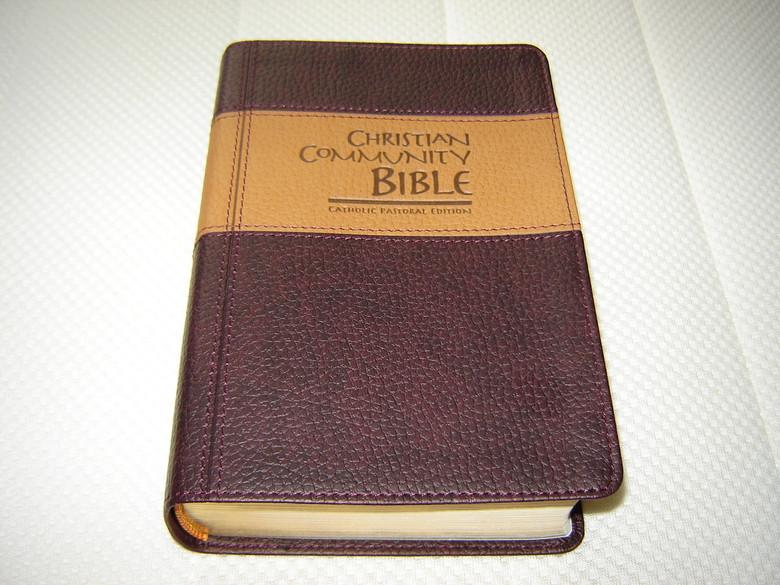Amazon.com: catholic bible leather bound