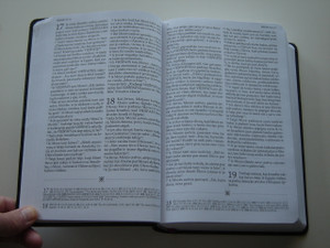 Biblija - Lithuanian Bible / Versta Karaliaus Jokubo (KJV) Biblijos / Bible in Lithuanian with References and Comments