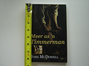 More Than a Carpenter by Josh McDowell / Afrikaans Language Edition - Meer as 'n Timmerman