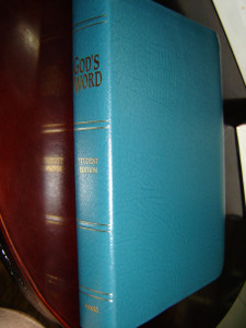 God's Word for Students: God's Word / Sierra Green Bonded Leather
