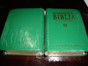 GREEN Tagalog Bible with Deuterocanonical Books / Magandang Balita Biblia / Tagalog Popular Version TPV