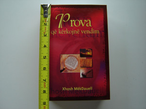 New Evidence That Demands a Verdict / ALBANIAN Language Edition by Josh McDowell