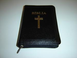 Romanian Leather-bound Bible with References / Biblia sau Sfanta Scriptura - Cu Trimiteri Editie Revizuita
