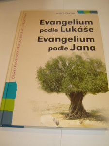 Czech Bible Portion Super Large Print / The Gospel of Luke and The Gospel of John / Evangelium Podle Lukase and Jana