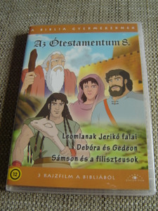 The Old Testament 8 / Three Episodes x 25 minutes / Az Otestamentum 8 / Il Vecchio Testamento / 1. The Walls of Jericho Falling Down 2. Debora and Gideon 3. Samson and the Philistines