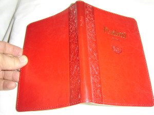 The Book of Psalms in Croatian Language / Burgundy Leather Bound, Golden Edges / Psalmi