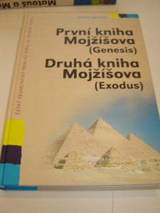 Czech Bible Portion Super Large Print / Genesis and Exodus / Prvni Kniha Mojzisova, Druha Kniha Mojzisova