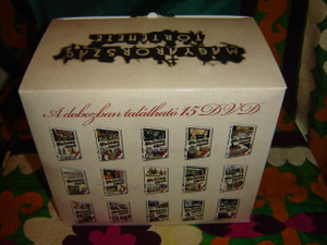 The History of Hungary Documentary Film Series 1-46 Episodes Collector's Set / MAGYARORSZAG TORTENETE DISZDOBOZBAN 1-46 resz - 15 DVD - 2009