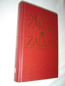 Czech New Testament and Psalms / Burgundy Hardcover / Large Print / Czech Ecumenical Translation / Novy Zakon Zalmy - Cesky ekumenicky preklad