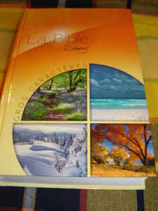 French Bible / LARGE Print  / La Bible Gros Caracteres Version du Semeur Revision 2000