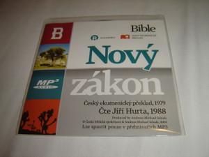 Czech MP3 Audio New Testament / Novy Zakon Cesky ekumenicky preklad, 1979 / Cte Jiri Hurta, 1988 MP3
