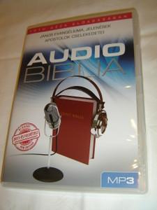 Audio Biblia Tóth Géza Eloadásában MP3 / Hungarian Audio Bible on MP3 CD / János Evangéliuma, Jelenések, Apostolok Cselekedetei