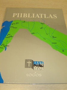 Estonian Language Bible Atlas presented on A4 size full color 64 pages / Piibliatlas