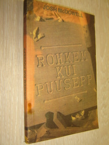 More Than A Carpenter in Estonian Language / Rohkem Kui Puusepp / By Josh McDowell